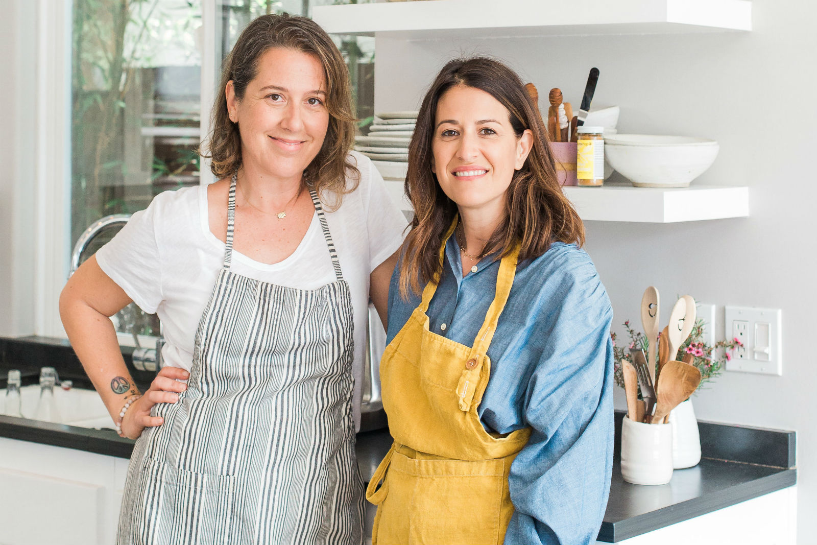 Nicole Rice and Jamie Kantrowitz founders of Countertop Foods.